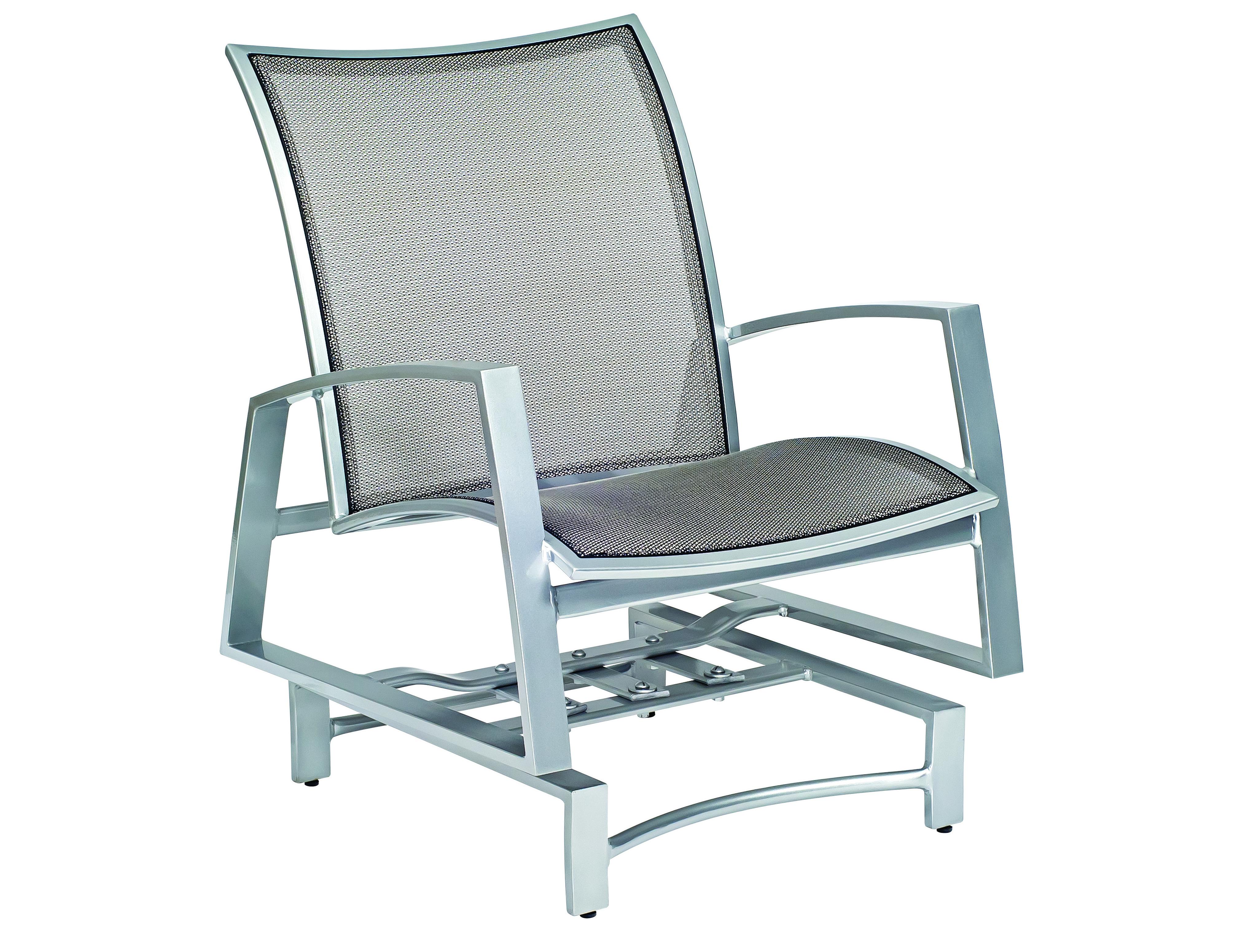 Woodard Wyatt Flex Aluminum Spring Lounge Chair Wr520465