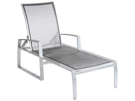 Woodard Wyatt Flex Aluminum Chaise