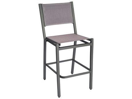 Woodard Palm Coast Sling Aluminum Bar Stool