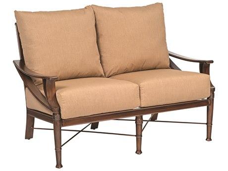 Woodard Arkadia Cushion Aluminum Loveseat