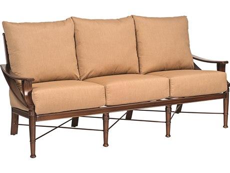Woodard Arkadia Cushion Aluminum Sofa