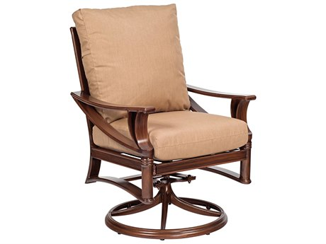 Woodard Arkadia Swivel Rocker Dining Chair Replacement Cushions