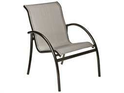 Woodard Tribeca Aluminum Stackable Dining Arm Chair