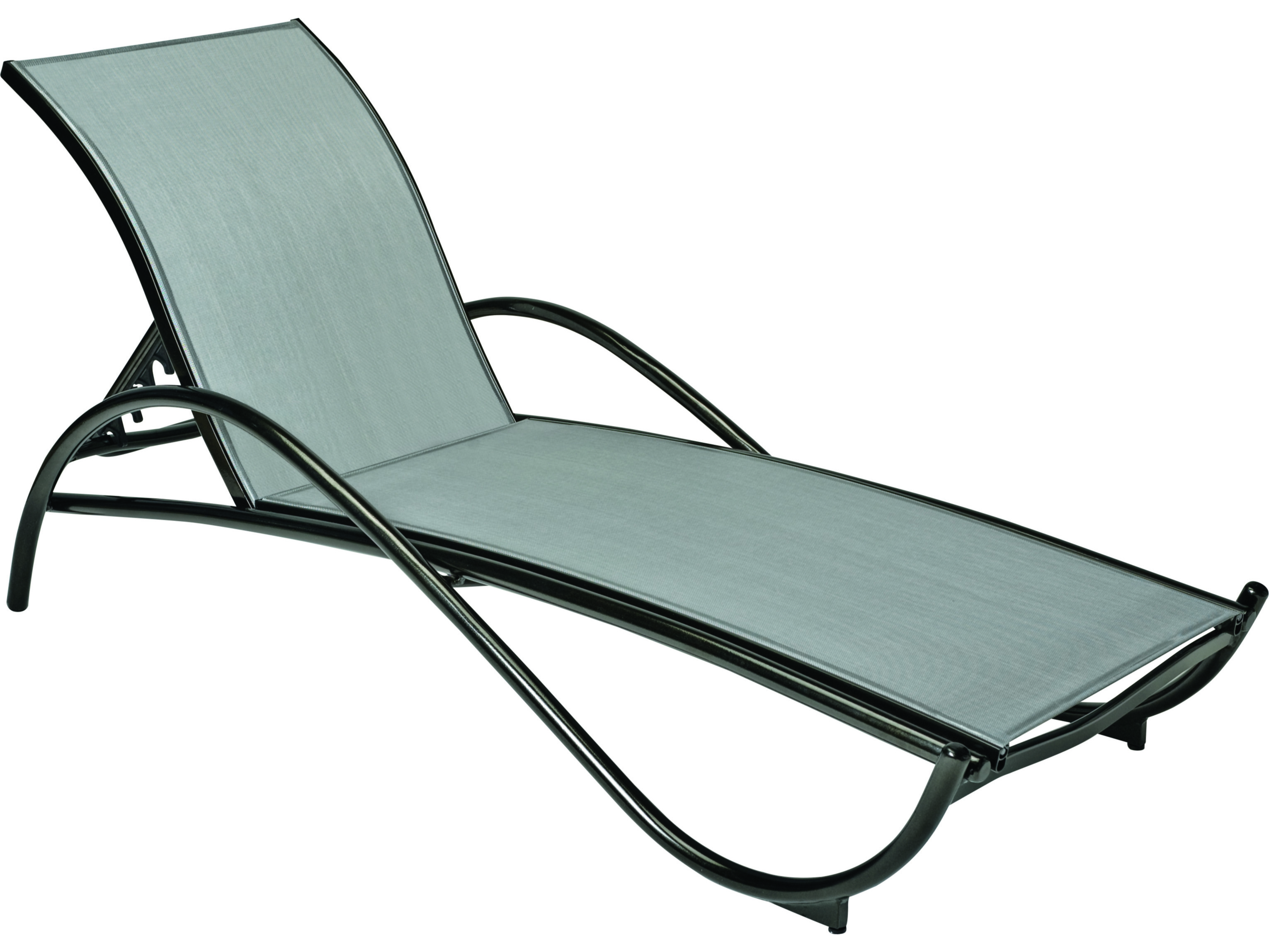Woodard Tribeca Aluminum Chaise Lounge 5d0470
