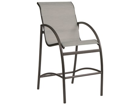 Woodard Tribeca Aluminum Bar Stool