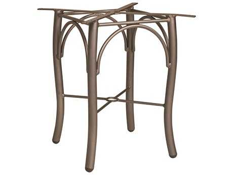 Woodard Tribeca Aluminum Bistro Table Base WR5D3200