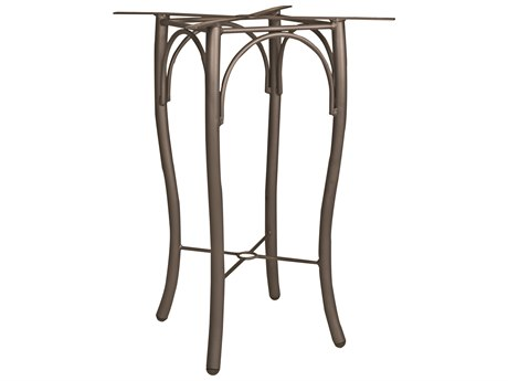 Woodard Tribeca Aluminum Bar Height/Bistro Table Base