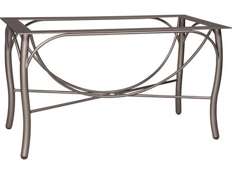 Woodard Tribeca Large Aluminum Dining Table