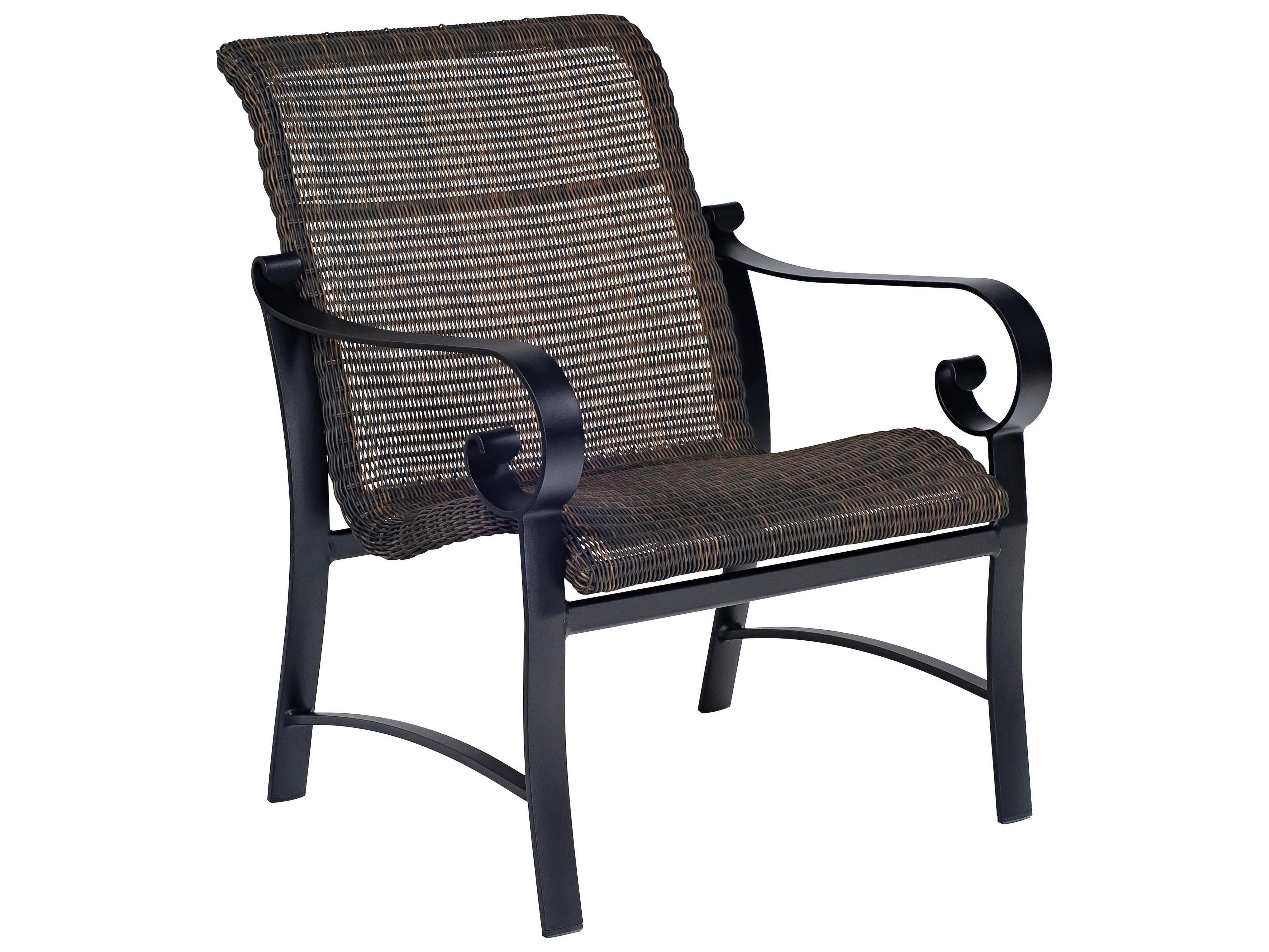 woodard belden woven round weave wicker lounge chair. Black Bedroom Furniture Sets. Home Design Ideas