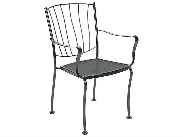 Woodard Aurora Wrought Iron Dining Chair