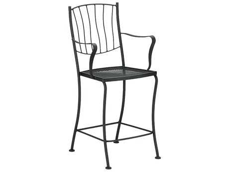 Woodard Aurora Wrought Iron Counter Stool
