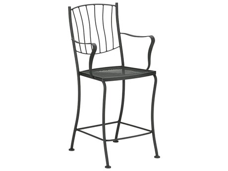 Woodard Aurora Wrought Iron Counter Stool WR5L0071