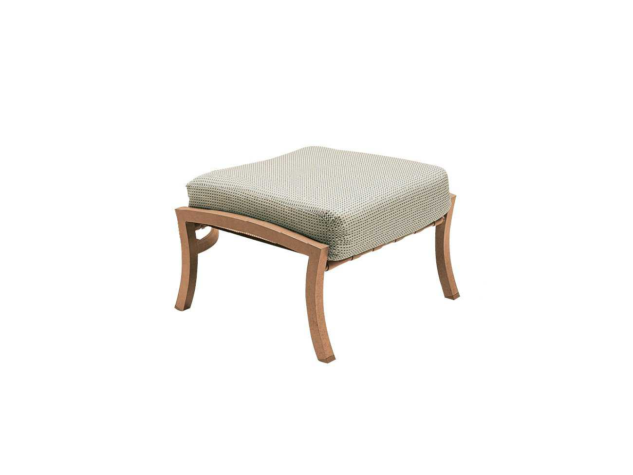 Woodard carson ottoman replacement cushions wr5p0486ch for Carson chaise lounge