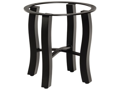 Woodard Carson Aluminum End Table Base