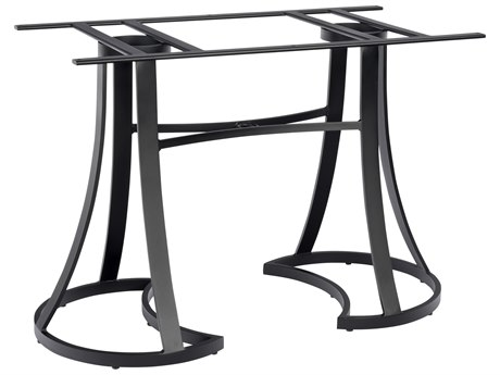 Woodard Aluminum Mainstreet Counter Height Table Base