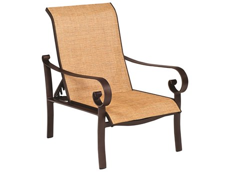 Woodard Belden Sling Aluminum Lounge Chair