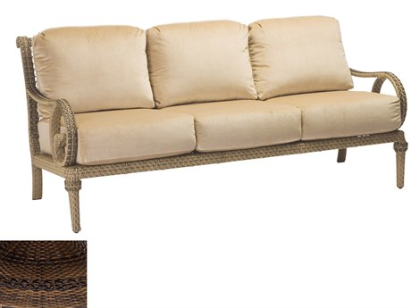 Woodard South Shore Wicker Sofa
