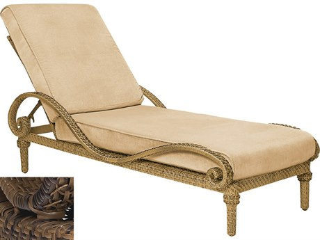 Woodard South Shore Wicker Adjustable Chaise Lounge