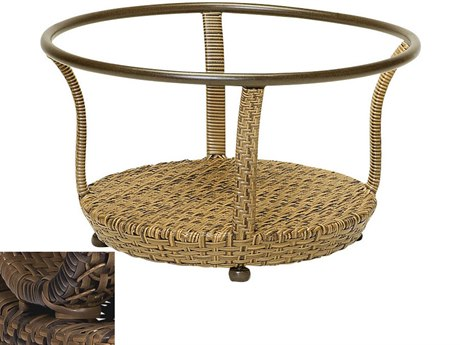 Woodard South Shore Wicker Coffee Table Base