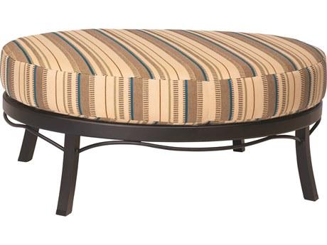 Woodard Cortland Universal Oval Ottoman Replacement Cushions