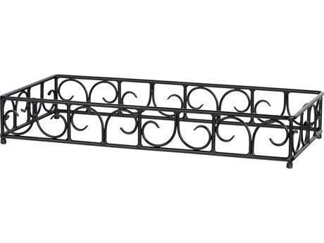 Woodard Wrought Iron Rectangular Fire Guard