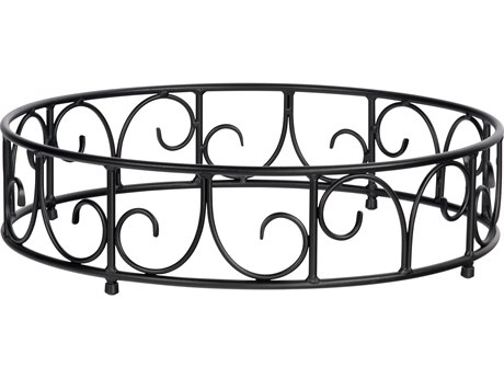 Woodard Wrought Iron Round Fire Guard