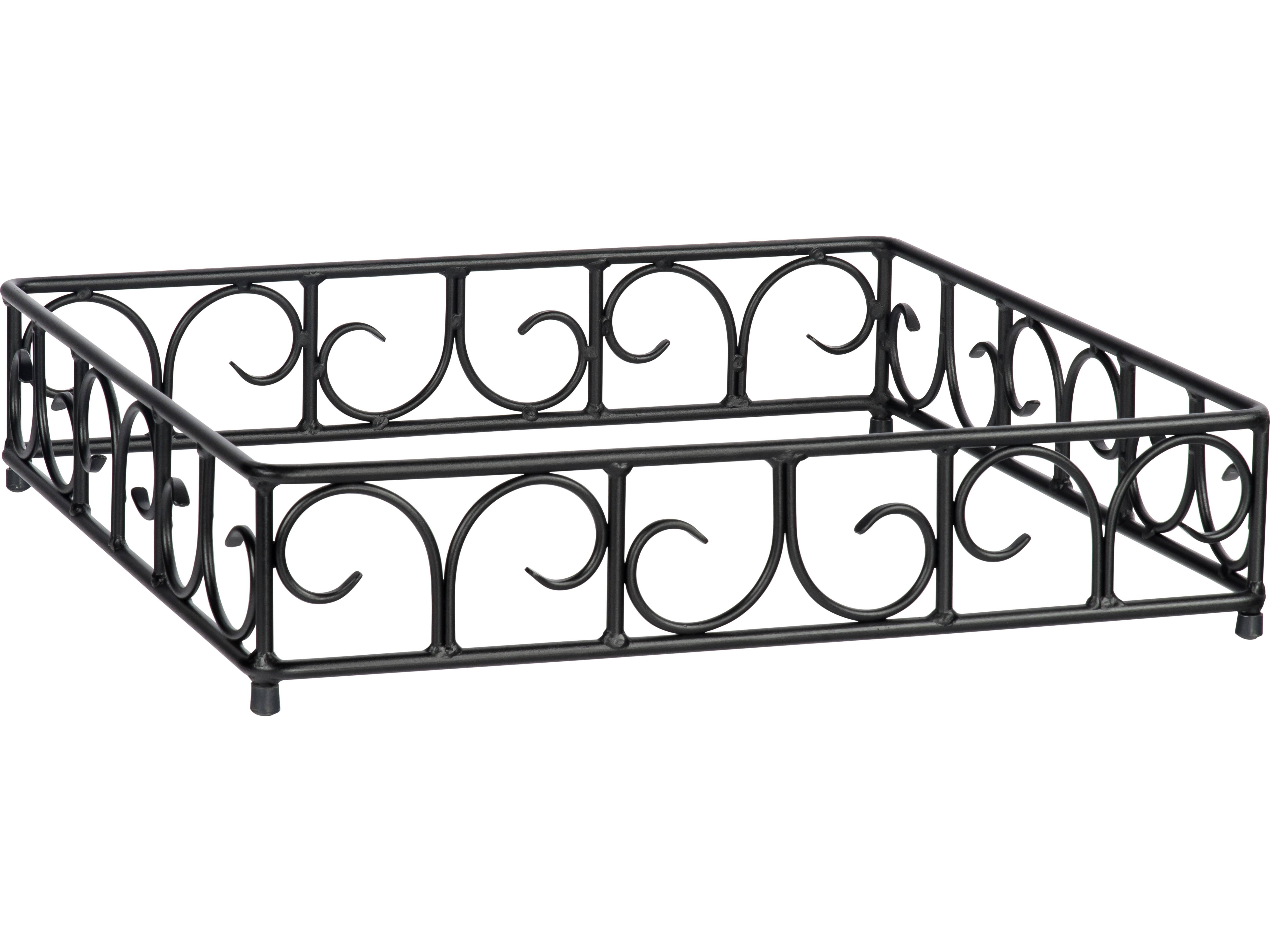 Woodard Wrought Iron Square Fire Guard 65sqgd