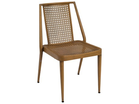 Woodard Parc Aluminum Dining Side Chair