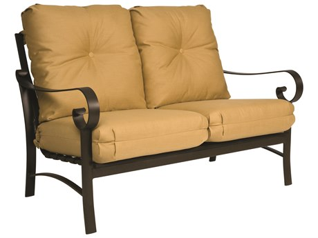 Woodard Belden Cushion Aluminum Loveseat
