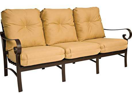 Woodard Belden Cushion Aluminum Sofa