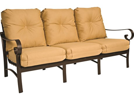 Woodard Belden Cushion Aluminum Sofa PatioLiving