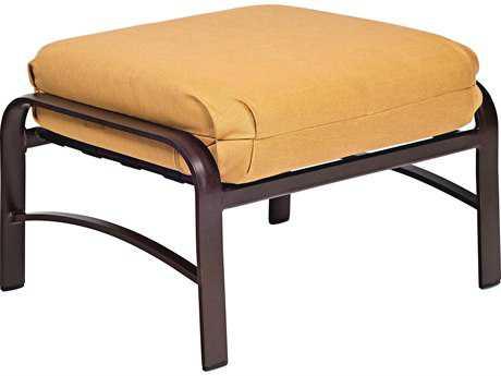 Woodard Belden Cushion Aluminum Ottoman
