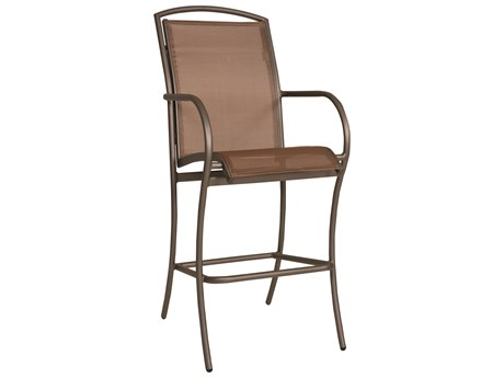 Woodard Rivington Sling Aluminum Bar Stool