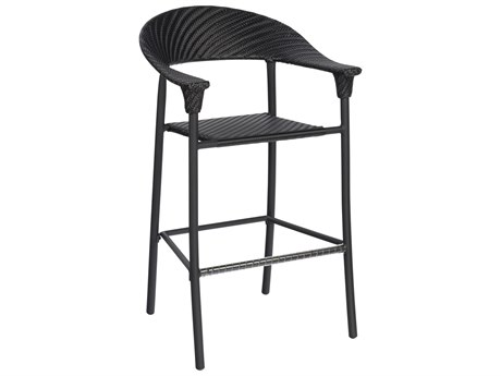 Woodard Whitecraft Barlow Wicker Bar Stool