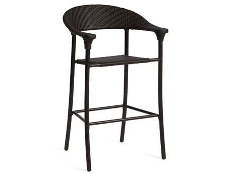 Woodard Whitecraft Barlow Bar Stool with Optional Seat Cushion