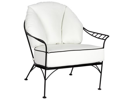Woodard Hamilton Wrought Iron Lounge Chair
