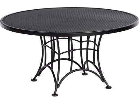 Woodard Hamilton Wrought Iron 36''Wide Round Coffee Table PatioLiving