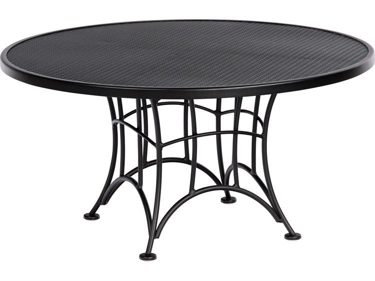 Woodard Hamilton Wrought Iron Coffee Table 6k0038