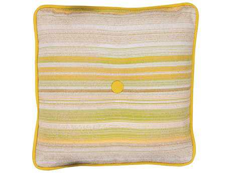 Woodard 17 x 17 Throw Pillow with Button