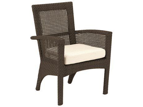 Woodard Trinidad Wicker Dining Chair PatioLiving