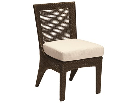 Woodard Trinidad Wicker Dining Side Chair