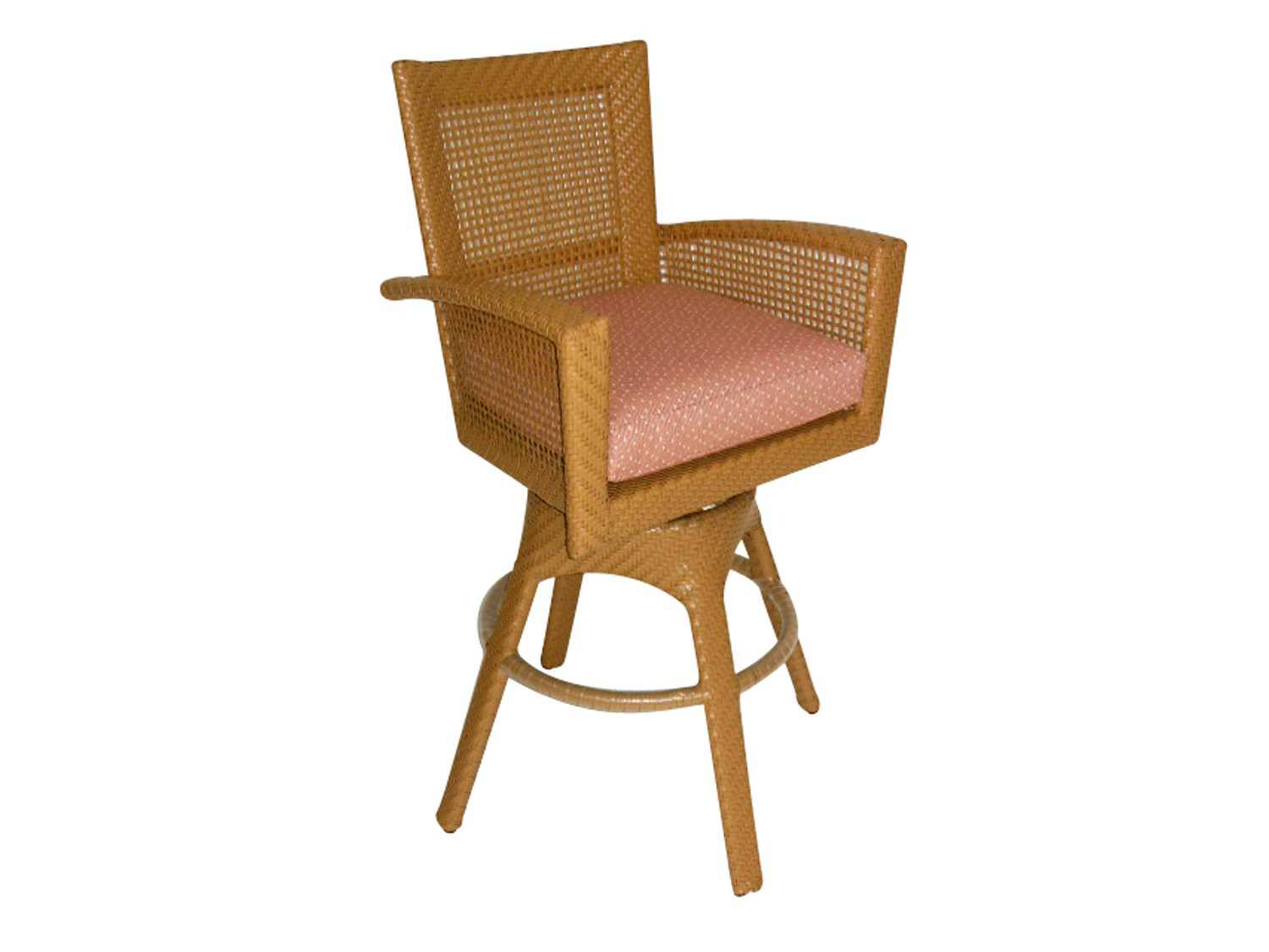 woodard trinidad counter stool replacement cushions 6u0068nch. Black Bedroom Furniture Sets. Home Design Ideas