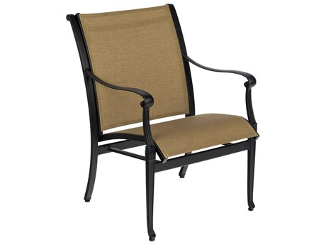 Woodard Wiltshire Sling Cast Aluminum Dining Chair