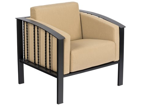 Woodard Comstock Wrought Iron Lounge Chair