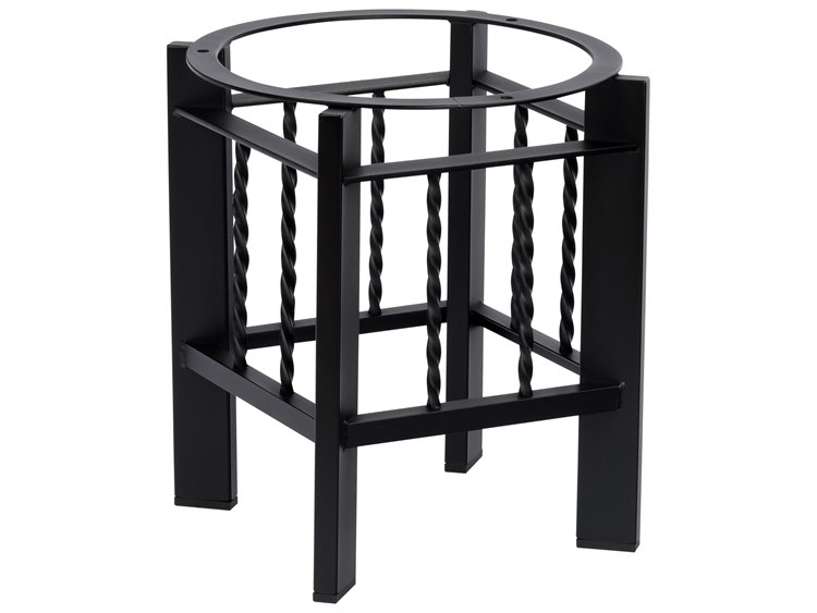 Woodard Comstock Wrought Iron End Table Base