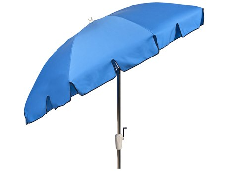 Woodard 7 Octagon 8 Rib Crank Lift Aluminum Umbrella