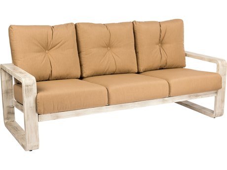 Woodard Vale Cushion Aluminum Sofa