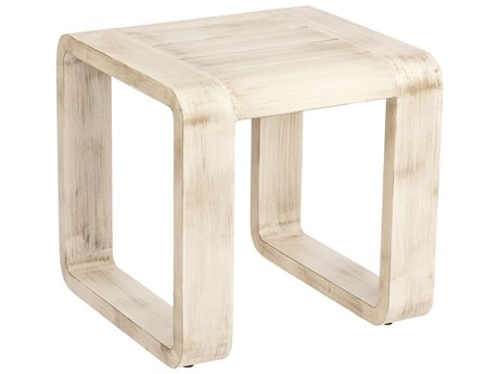 Woodard Vale Aluminum 22.5 Square End Table