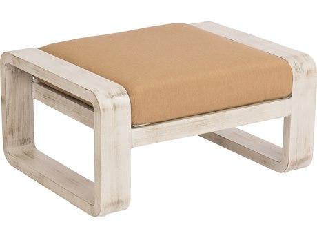 Woodard Vale Aluminum Cushion Ottoman