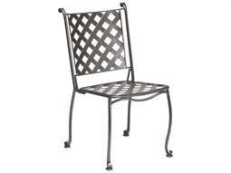 Maddox Wrought Iron Stackable Bistro Side Chair